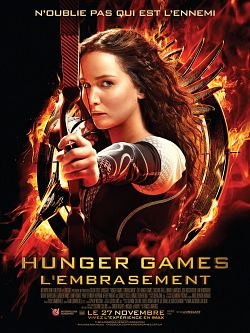 Affiche Hunger Games - L'embrasement