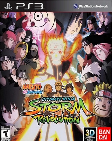 Naruto Shippuden : Ultimate Ninja Storm Revolution - PlayStation 3