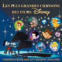 Various Artists-Les Plus Grandes Chansons Des Films Disney (Versions Française et Versions Anglaise)