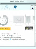 Any Video Converter Professional 5.8.1