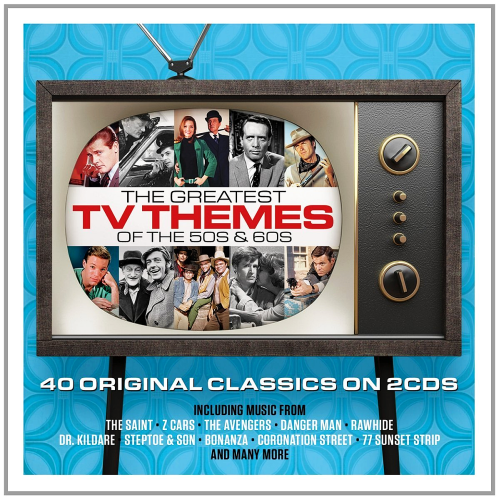 Various Artists-60's, 70's TV & Movie Hits (The Greatest Themes of All Time)