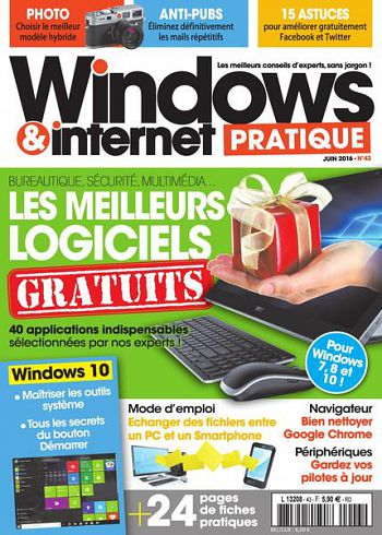 WINDOWS & INTERNET PRATIQUE N°43 - JUIN 2016