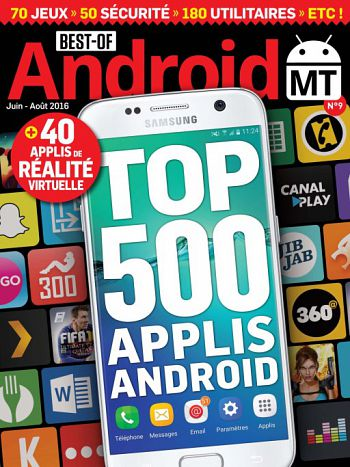 Best Of Android MT N°9 – juin-août 2016