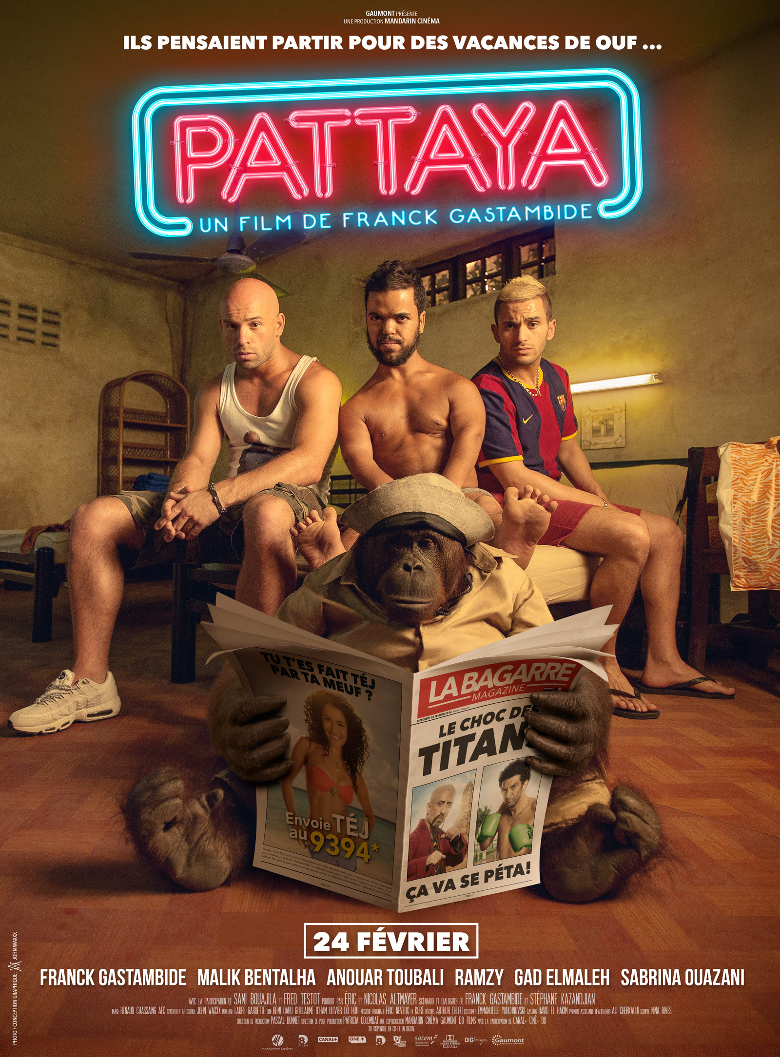 Pattaya - FRENCH (2016)
