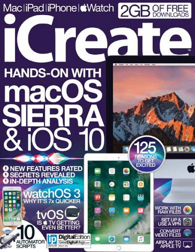iCreate – Issue 162, 2016