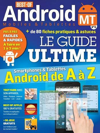 Best Of Android Mobiles et Tablettes N°10 - Septembre-Novembre 2016