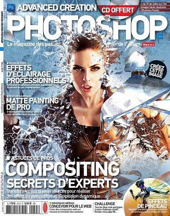 Advanced Creation Photoshop Magazine No.55