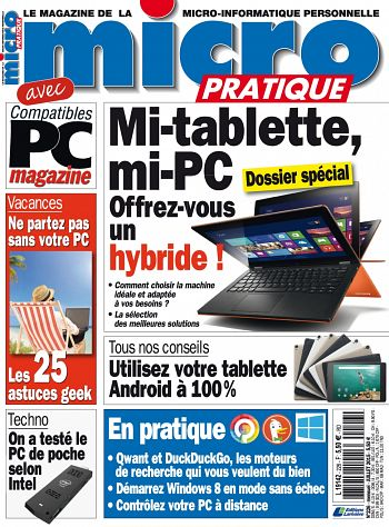 Micro Pratique N 226 - Mi-Tablette/Mi-PC