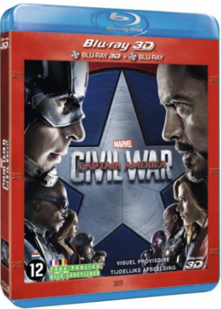 Captain America: Civil War - MULTi (Avec TRUEFRENCH) BluRay 1080p 3D