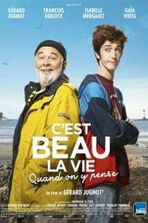 affiche film C'est beau la vie quand on y pense en streaming