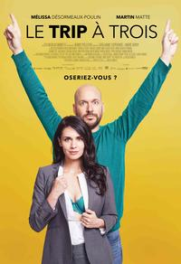 affiche film Le trip à trois en streaming