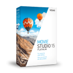 MAGIX VEGAS Movie Studio Platinum v15.0.0.116 x64