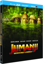 Jumanji : Bienvenue dans la jungle - MULTi BluRay 1080p 3D