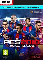 Pro Evolution Soccer 2018 - PC DVD