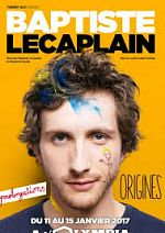Spectacle - Baptiste.Lecaplain.Origines.2017