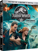 Jurassic World: Fallen Kingdom  - MULTi (Avec TRUEFRENCH) BluRay 1080p 3D