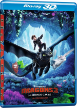 Dragons 3 : Le monde caché  - MULTi (Avec TRUEFRENCH) BluRay 1080p 3D