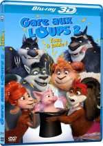 Gare aux loups 2: Tous à table! - MULTi BluRay 1080p 3D