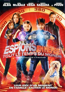 poster film Spy Kids 4: All the Time in the World